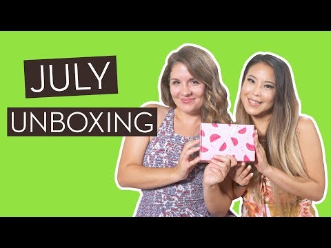 July Unboxing and GIVEAWAY (Closed)! ft. Glow Recipe}
