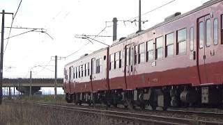 キハ47 飯山線国鉄色旅情号 9735D 北長岡~押切