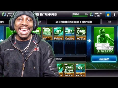 FOOTBALL OUTSIDERS PACK OPENING & PROGRAM HELP! Madden Mobile 17 Gameplay Ep. 17