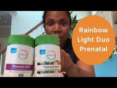 Rainbow Light Duo Prenatals  Top Prenatal Pills 2019