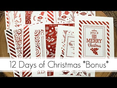 25 DIY Christmas Cards in an Hour? Yes Please!
