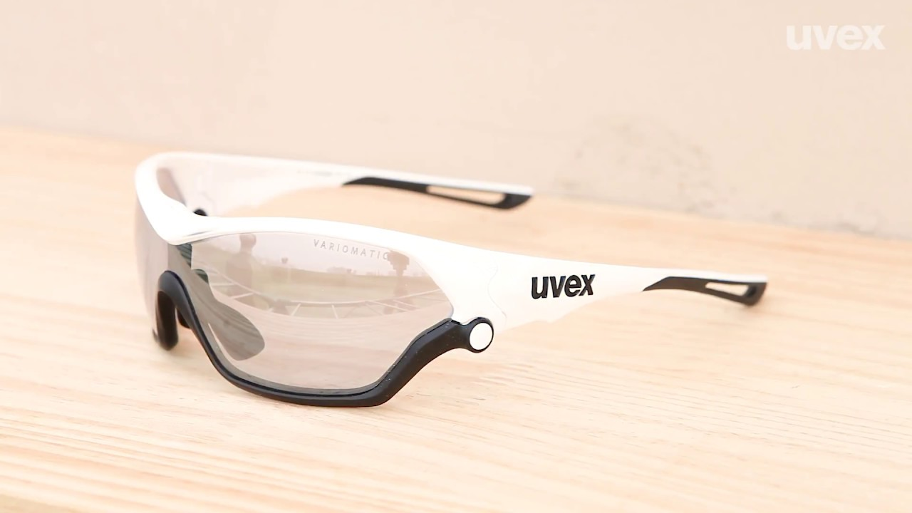 30755b4ab21 uvex sportstyle 705 vm - 변색미러 렌즈 - YouTube
