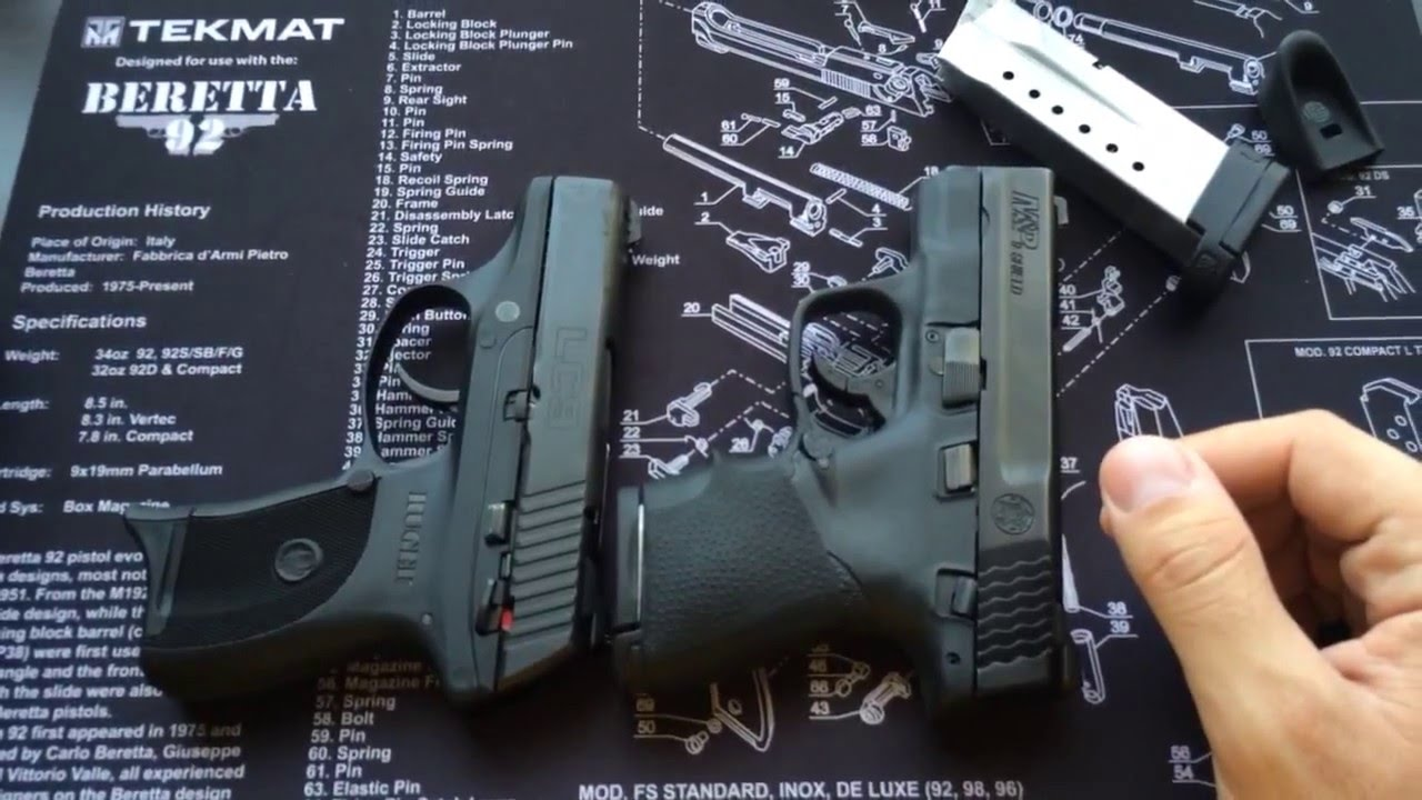 S Amp W M Amp P Shield 9mm Vs Ruger Lc9 9mm