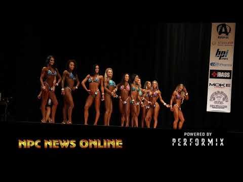 2018 IFBB NY Pro Bikini Finals