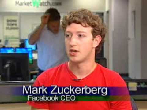 Bambi Francisco interviews Mark Zuckerberg in 2005