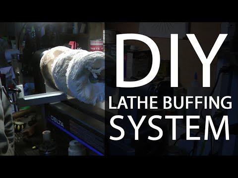 DIY Lathe Buffing System