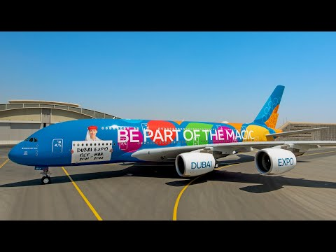 The new Expo 2020 Dubai A380 | Emirates Airline