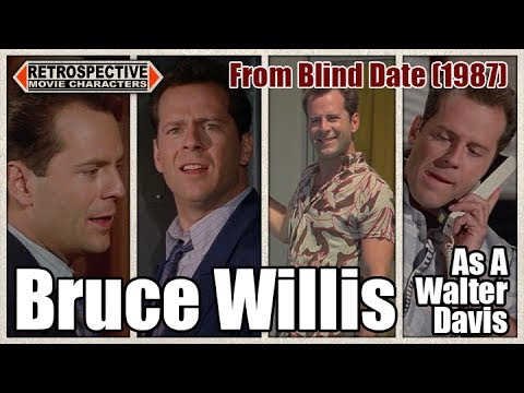 Bruce Willis As A Walter Davis From Blind Date (1987)