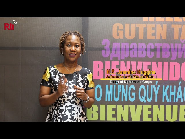 Interview with H.E.Jasmine Huggins, the Ambassador of St.Kitts and Nevis【央廣英語】