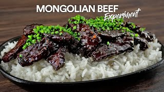 The MONGOLIAN BEEF Experiment!