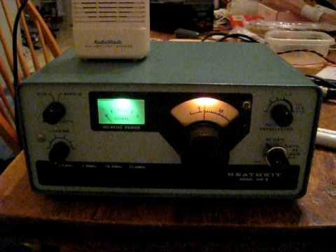 Heathkit hw-8 audio test qrp youtube.