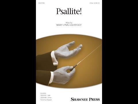 Psallite! (2-Part) - by Mary Lynn Lightfoot