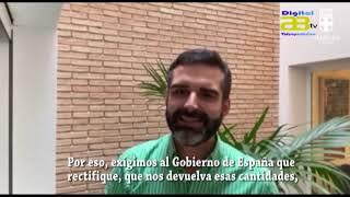 El alcalde  pide al Gobierno que «rectifique» al descontar 152.000 euros de la liquidación de 2017