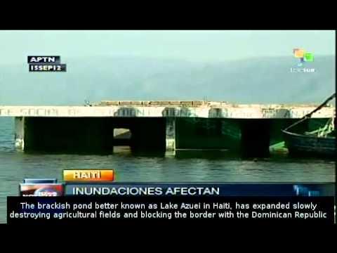 Floods threaten trade on Dominican-Haiti border