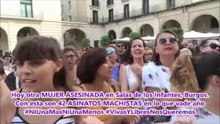 Plataforma Feminista de Alicante  8 de julio de 2019 #NoALaJauría DeManresa #NoEsNo