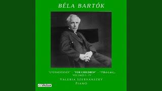 For Children, Sz. 42: Vol. 1, No. 21 Allegro robusto
