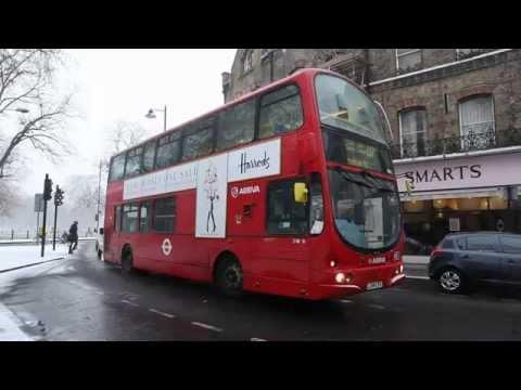 Snow in London - Clapham Common