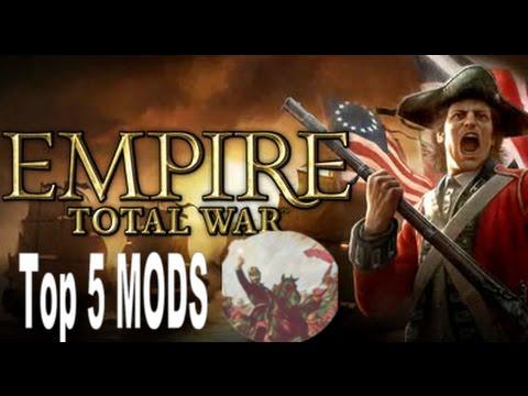 Top 5 MODs para Empire Total War - YouTube