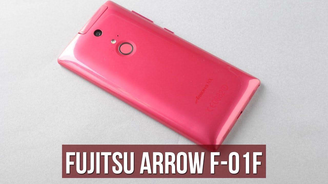 Fujitsu F-01F vân tay, chống nước, giá 1,9 triệu - Смотреть