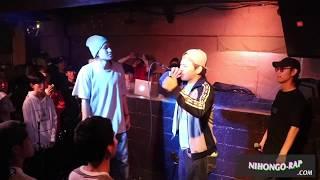 決勝戦。 「日本語ラップ.com 」 http://nihongo-rap.com/ 日本最大級の...