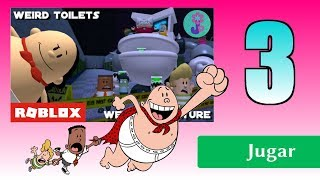 Roblox! Stop Professor Pipicaca EPISODE 3 and FINAL of Captain Underpants' Obby