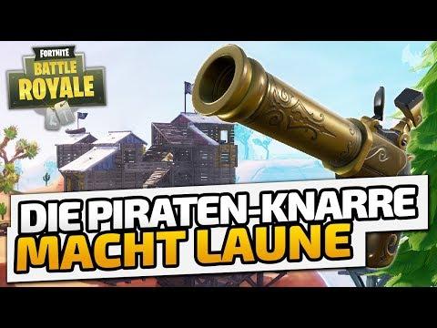 Neue PIRATEN-KNARRE macht Laune! - ♠ Fortnite Battle Royale ♠ - Deutsch German - Dhalucard