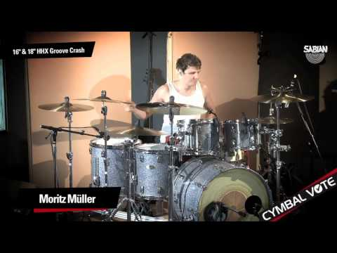 "CYMBAL VOTE - Moritz Müller Demo's the 18"" HHX Groove Crash"