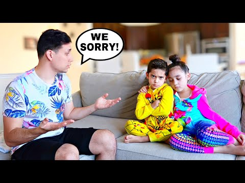 THE KIDS ARE REALLY MAD AT US BECAUSE OF THIS... | Jancy Family