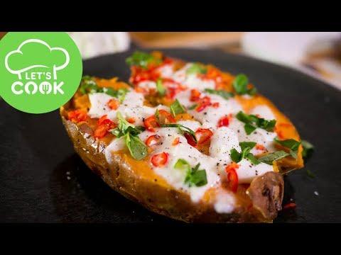 Rezept Gebackene Süßkartoffel Aus Dem Ofen Super Einfach Youtube