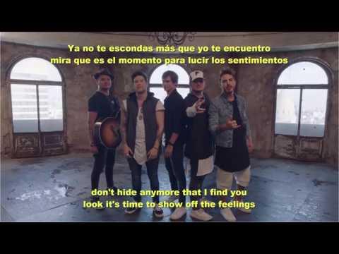 Ando buscando - Carlos Baute ft Piso 21 Letra-Lyrics, Ingles-Español