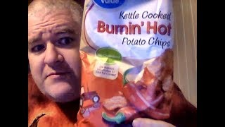Great Value Burnin' Hot Kettle Cooked Potato Chips
