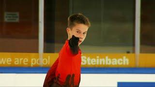 Кирилл Сарновский Короткая программа Юноши Линц Гран при по фигурному катанию среди юниоров 2021