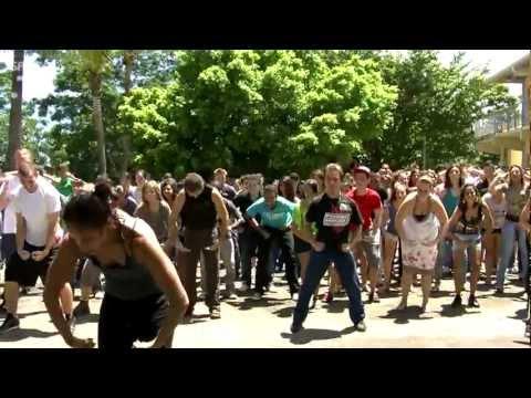 Flashmob au lycée Pierre Poivre ! (HD)