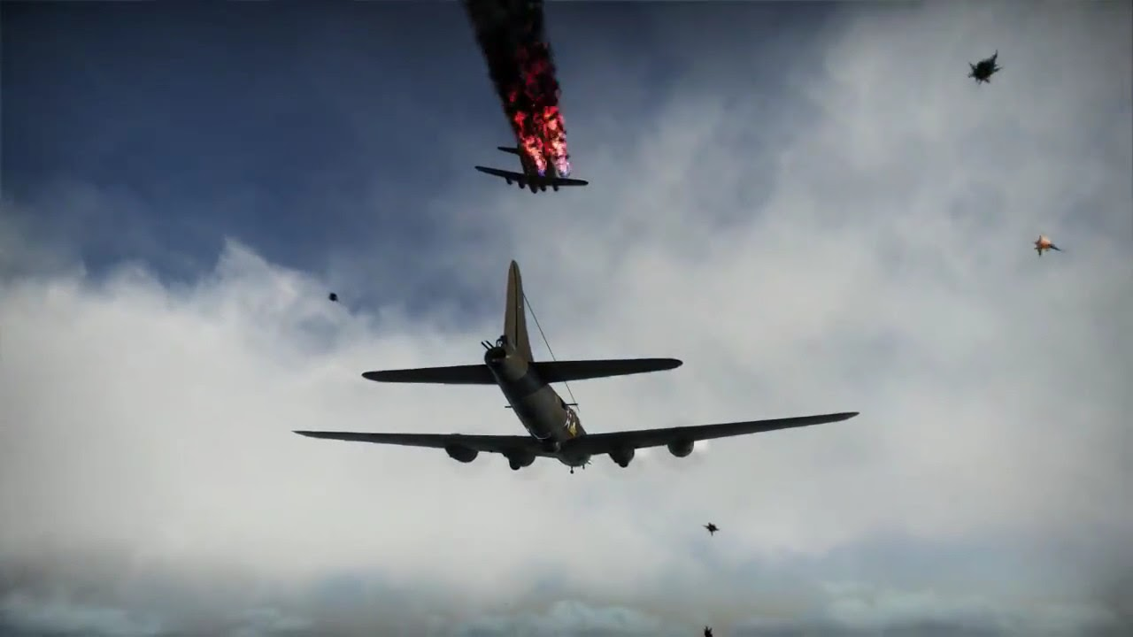War thunder b-17 carpet bomb
