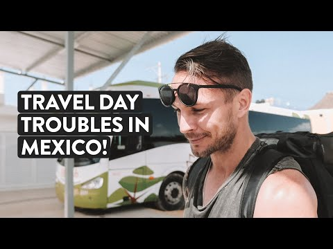 Mexico Travel Troubles 🤷🏼♂️🤷🏽♀️ | Tulum to Holbox Vlog