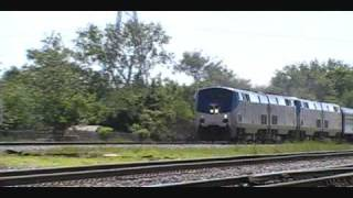 Amtrak 20, 4 units & Private Cars!! 4-29-11.