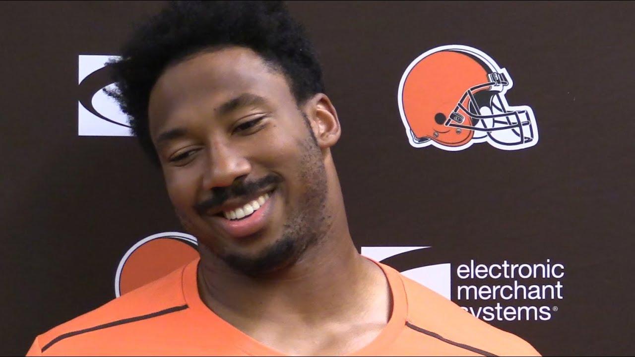 Browns React To Myles Garretts Espn Body Issue Photos