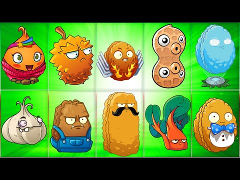 All Defense Plants in Plants vs Zombies 2