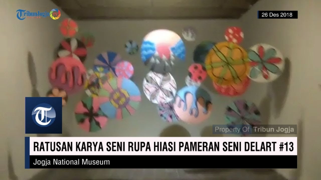 Ratusan Karya Seni Rupa Hiasi Pameran Seni Delart 13 Youtube