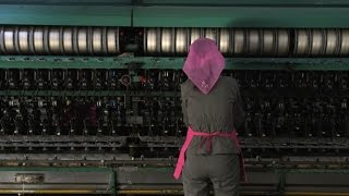 Silk factory portrays socialist utopia of North Korean regime