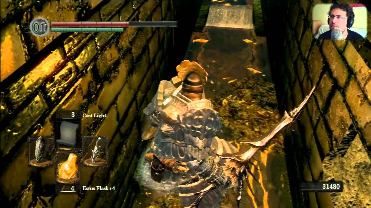 dark souls how to go to the depths