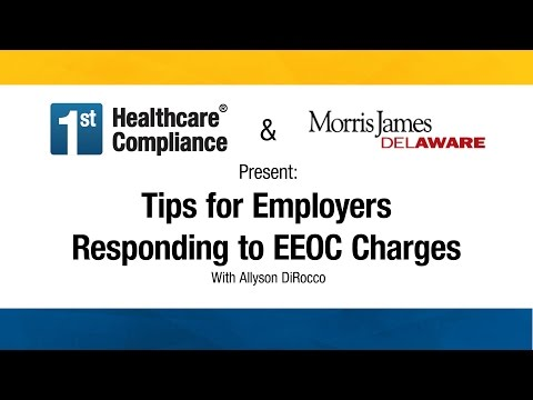 Tips for Employers Responding to EEOC Charges