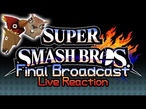 Smash 4 Final Broadcast Reaction