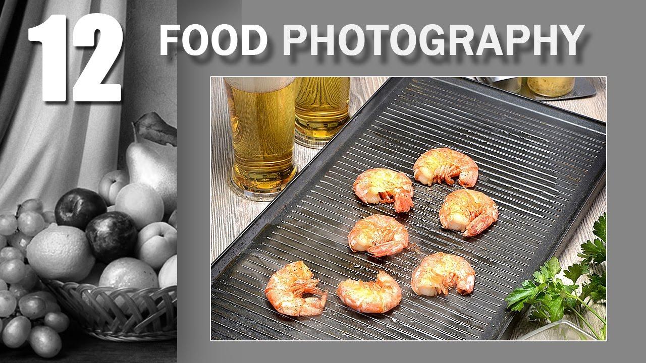12. Food Photography. Тема: Креветки жаренные с чесночным соусом