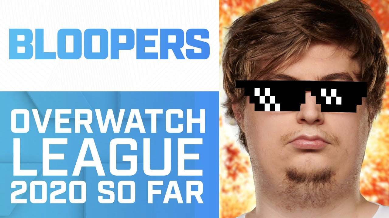 Unlucky ChipSa, Soe's Waffle, Pandas & Much More | OWL 2020 Bloopers & Funny Moments So Far