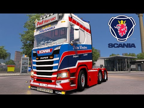 ETS2 v1.31 I Mod ▶️ Scania S500 PWT Thermo Stessens [Deutsch/HD]