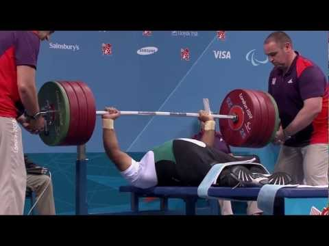 Powerlifting - London 2012 Paralympic Games