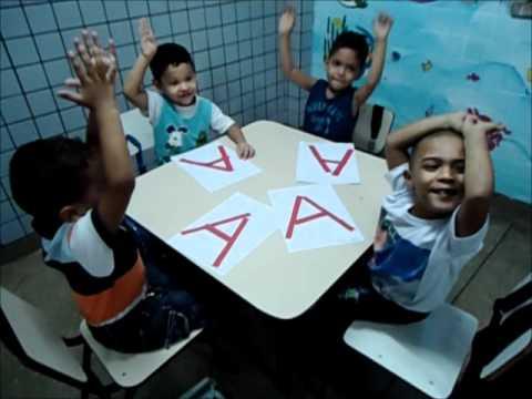 Atividade lúdica educação infantil