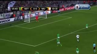 22 02 2017 henrikh mkhitaryan goal st etienne vs manchester united goals extended highlights