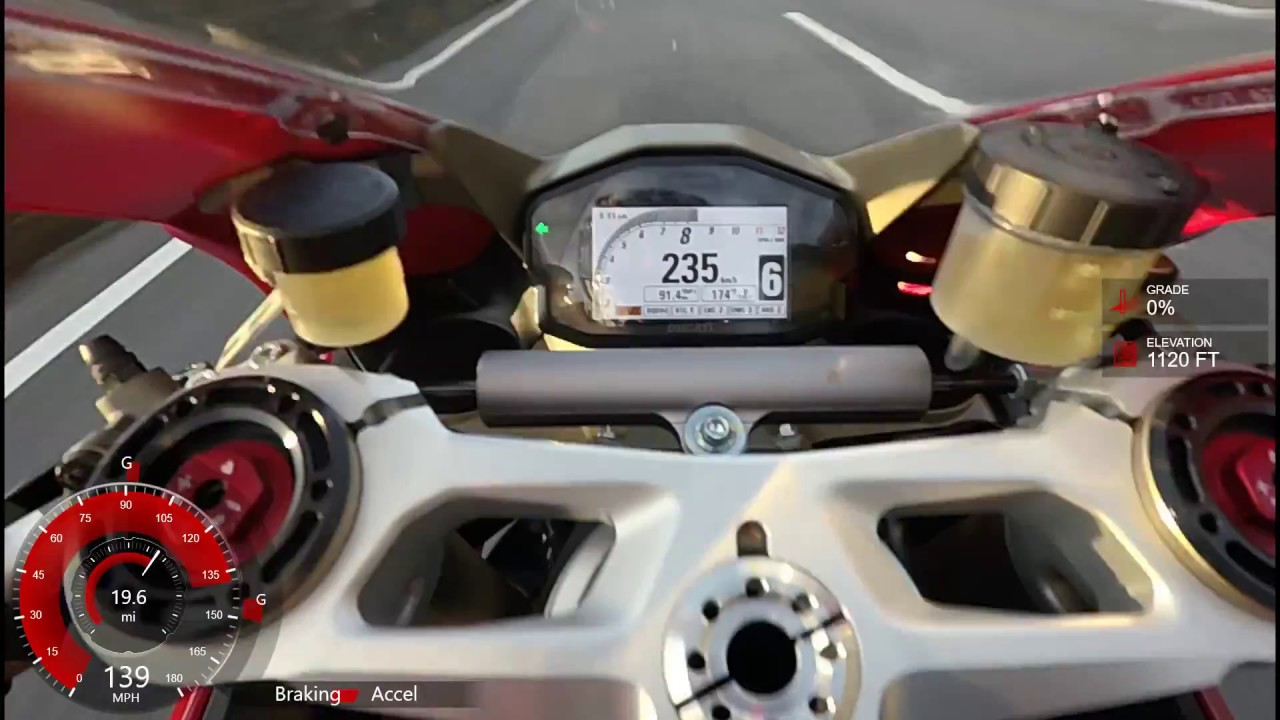 Motovlog 4 Ducati 1299 Panigale High Speed Autobahn Run Youtube